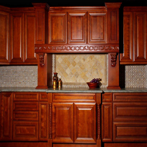 Door Style Galleria Color Royal Chocolate  Millbrook Kitchen Cabinets